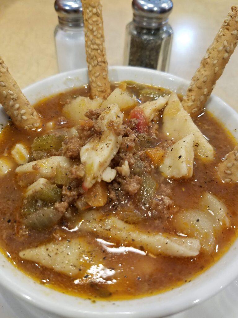 Homemade Pepper Pot Soup